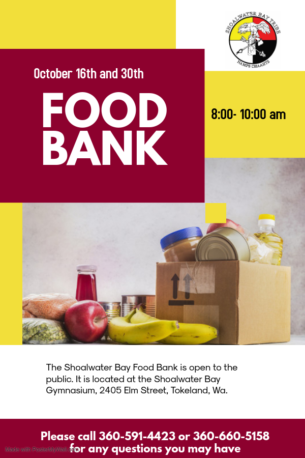 Food Bank October updated