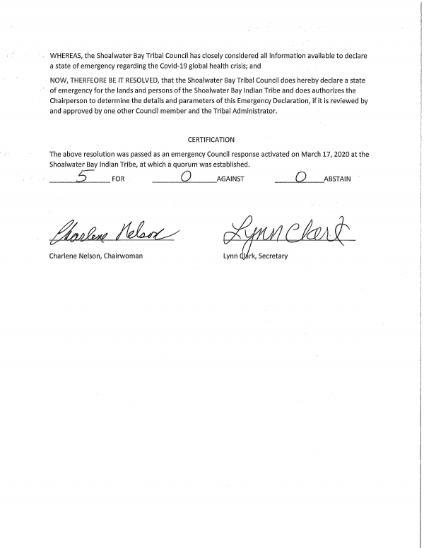 emergency declaration resolution Page 2